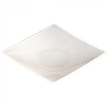 Mini assiette beverly blanc x50