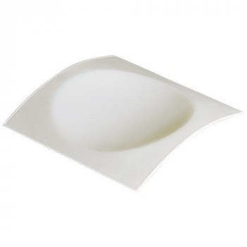 Mini assiette ibiza blanc x50