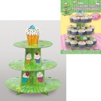 Presentoir cupcake 3 niveau pour 24