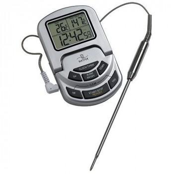 Thermometre 0/300° sonde avec alarme