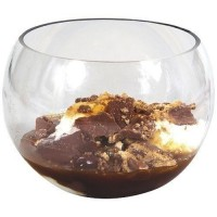 Verrine sphere 15cl plastique transparent (x10)