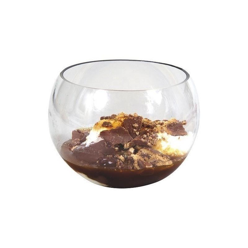 verrine sphere 15cl plastique transparent x10. Black Bedroom Furniture Sets. Home Design Ideas