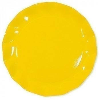 Assiette piccoli jaune ø 21 cm x10