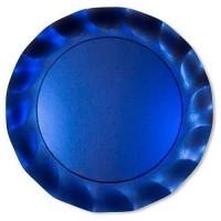 Assiette piccoli bleu satin ø 21 cm x10