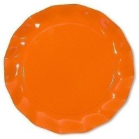 Assiette piccoli orange ø 21 cm x10